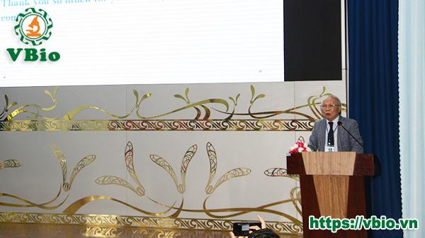 GS.TSKH Trịnh Tam Kiệt - Chủ tịch Hội Nấm học Việt Nam