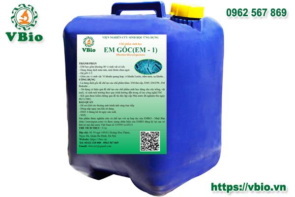 Chế phẩm EM1 (can20 lít)