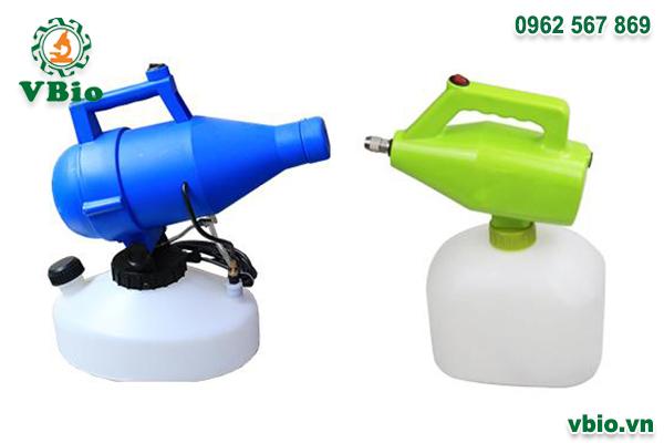 Combo 1 máy phun khử khuẩn không khí 1 đầu SUMO và 1 máy phun khử khuẩn cầm tay SUMO