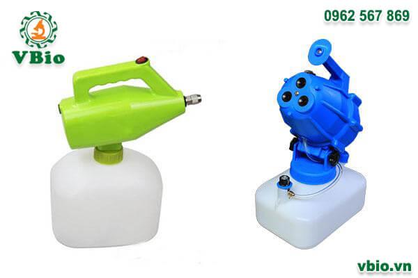 Combo 1 máy phun khử trùng mini SUMO và 1 máy phun sương khử trùng 3 đầu SUMO